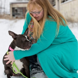 PINK, current foster by Ken & Theresa Snider